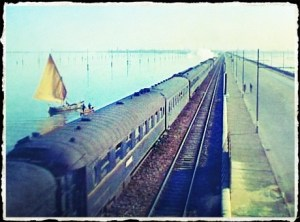 Leaving Land Behind, Venice By Train