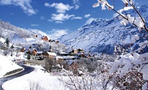 Vaujany - winter, but even more stunning when the snow melts...
