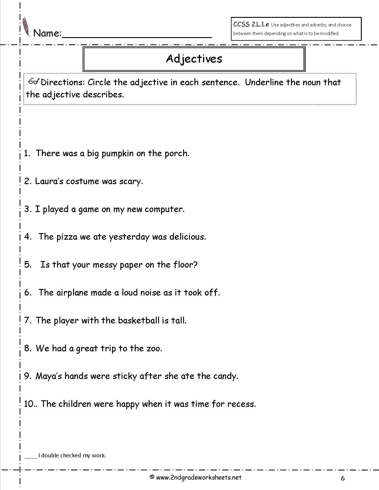 Worksheet English Worksheets For Grade 2 Grass Fedjp