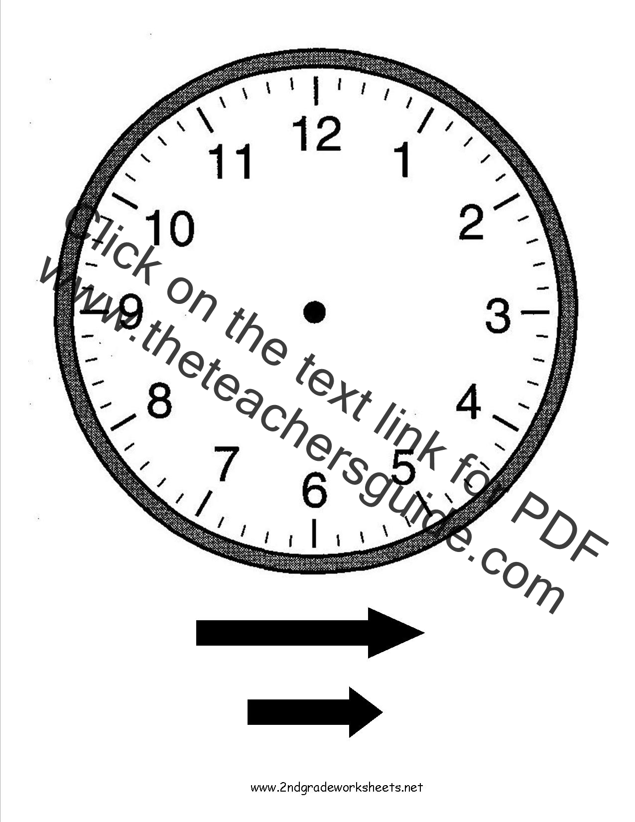 Math Worksheets Time To Five Minutes  Telling Time