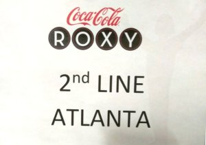 Coca Cola Roxie, Braves Event Atlanta, 2nd Line Atlanta Onstage Performance
