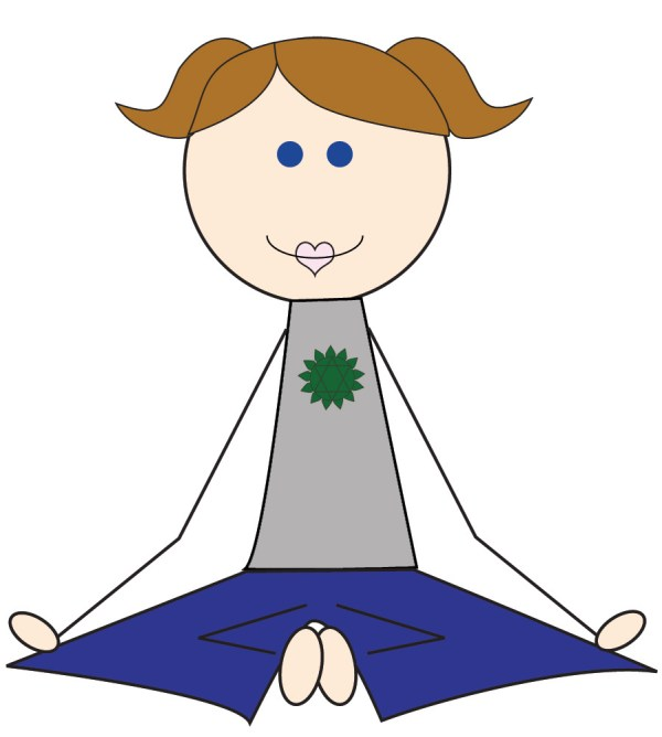Kids Yoga Clip Art