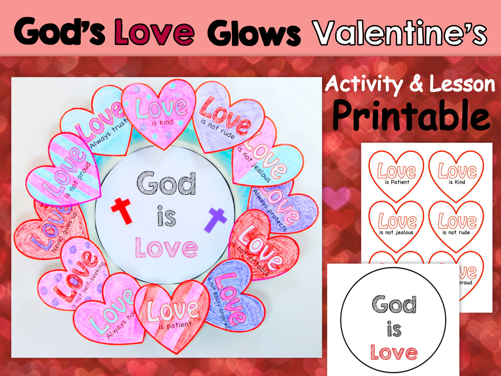 Egglo Printable Valentine S Day Craft