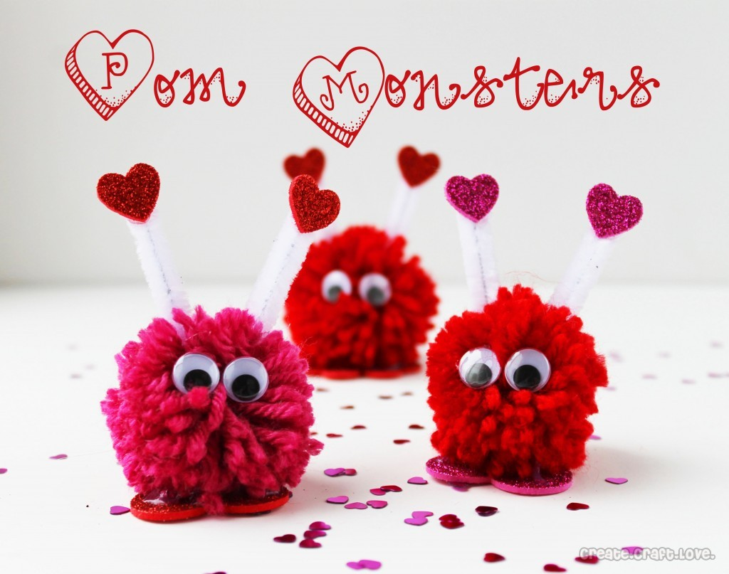 Fuzzy Valentines Day Monsters Egglo Entertainment