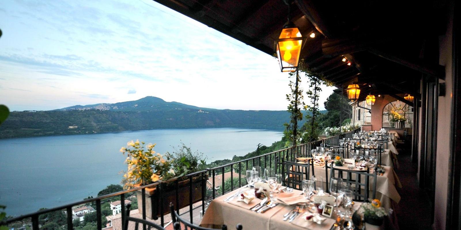 5 ristoranti panoramici con vista sul lago di Albano
