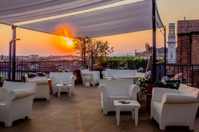 Brezza estiva e panorama mozzafiato le terrazze pi belle di Verona centro