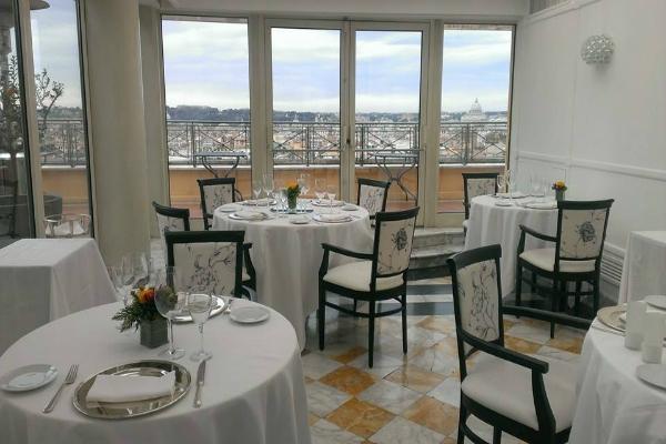 Dove cenare sulle pi belle terrazze di Roma