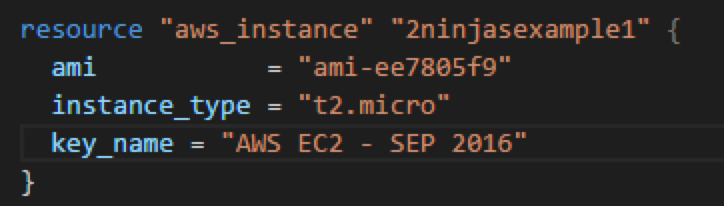 Terraform - Assigning an AWS Key Pair to your EC2 Instance