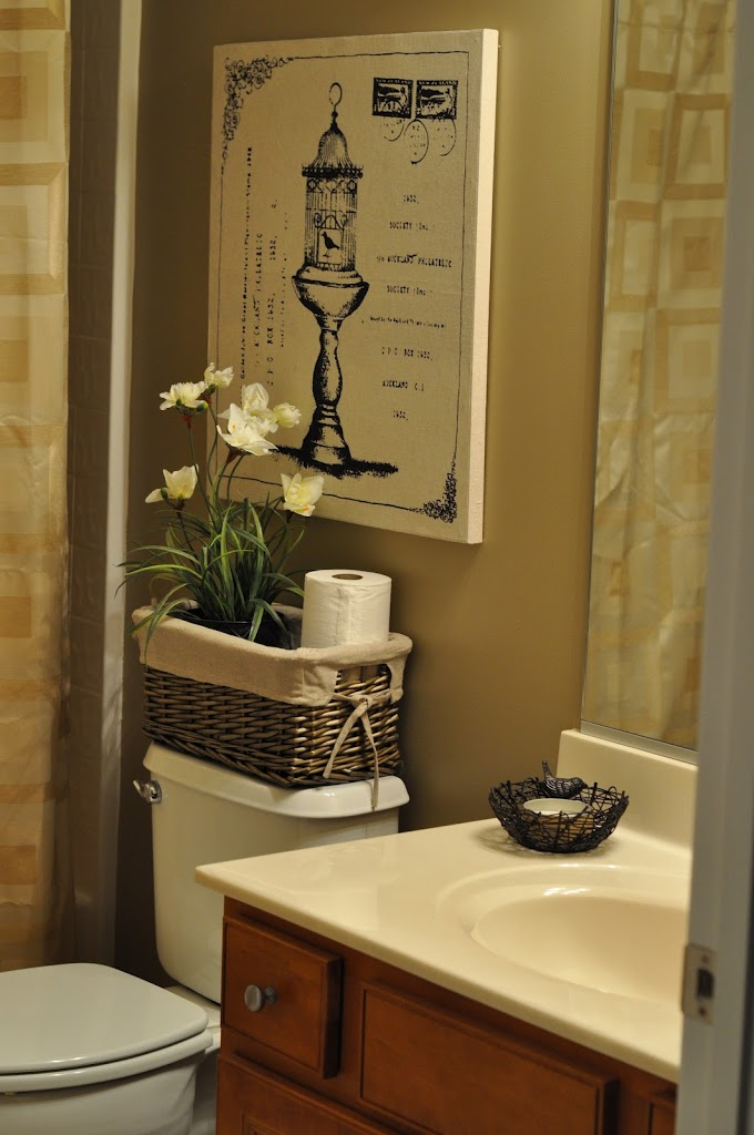 The Bland Bathroom Makeover Reveal - The Small Things Blog