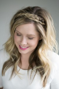 The double braided headband (2 ways to style it!)  The ...