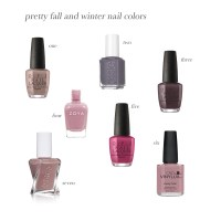 Fall and Winter Nail Colors  The Small Things Blog