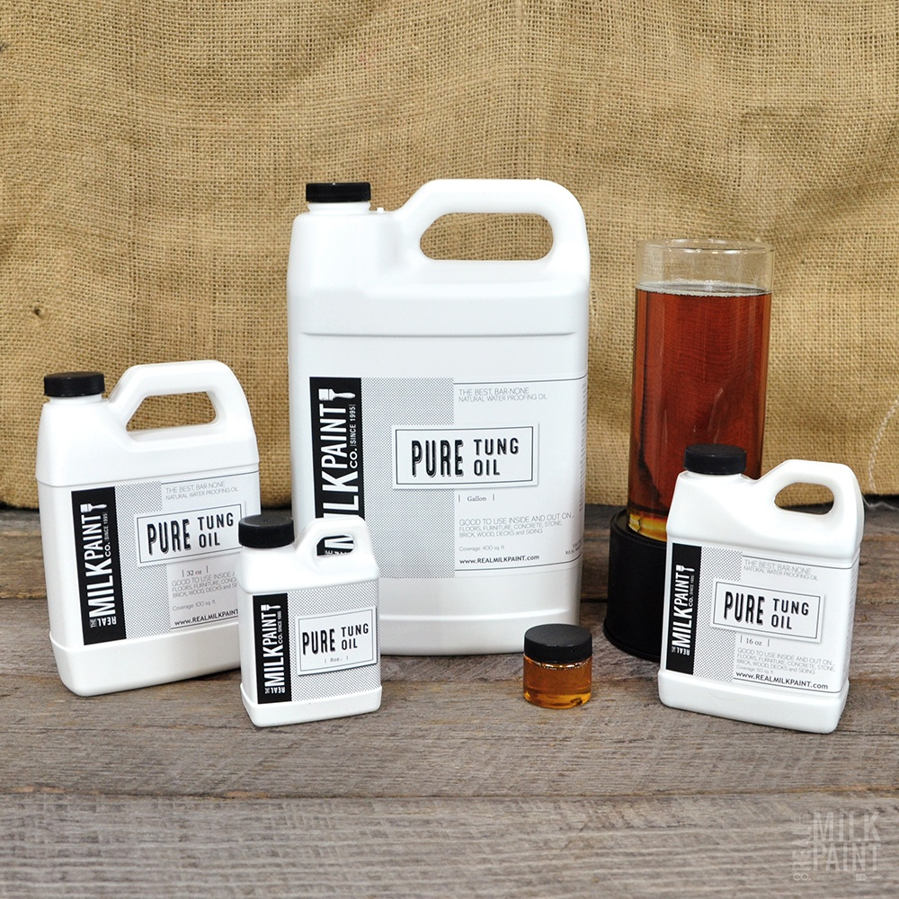 Pure Tung Oil That Is Great For Sealing Concrete