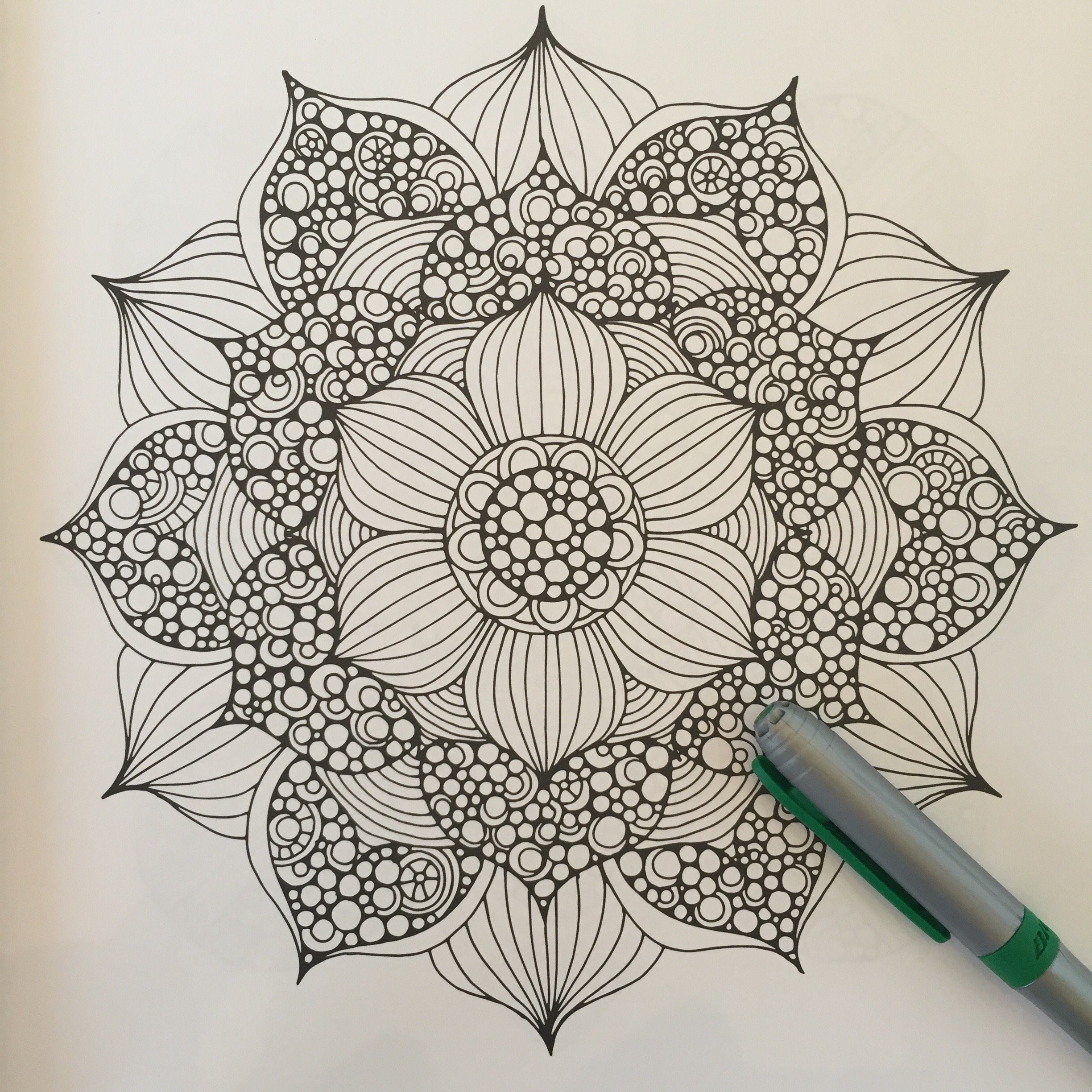 Creative Coloring Mandalas 2 Old 2 Color