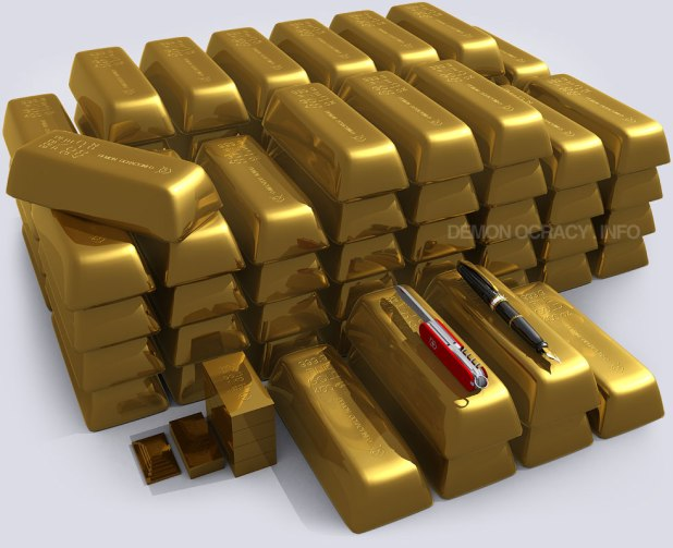 One tonne of gold