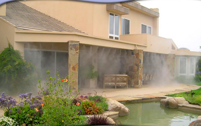 patio misting system for your property