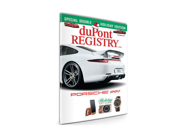 DuPont REGISTRY Holiday Gift Guide 2013 Autofluence