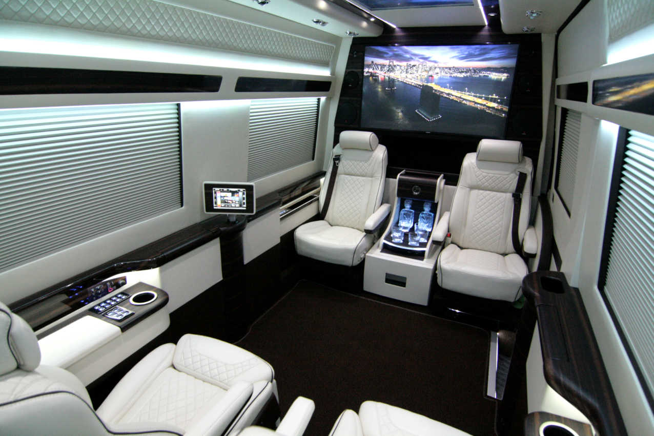 High Quality Custom Design Sprinters Converted To Luxury