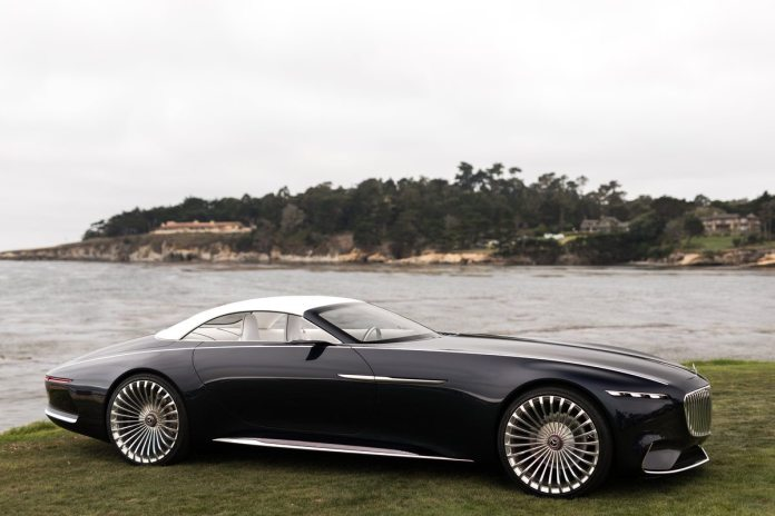 vision mercedes-maybach 6 cabriolet: future of luxury cars?