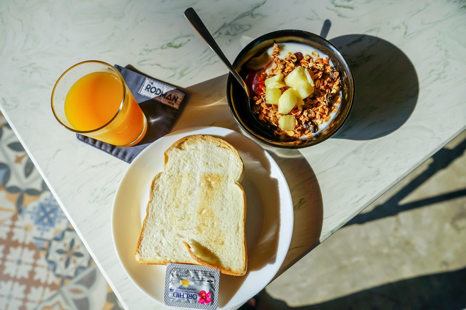 我跟Penny都超愛吃飯店早餐的,覺得旅遊的開始就是好好的在飯店吃早餐,吃一頓滿意的早餐一整天心情都會好起來!