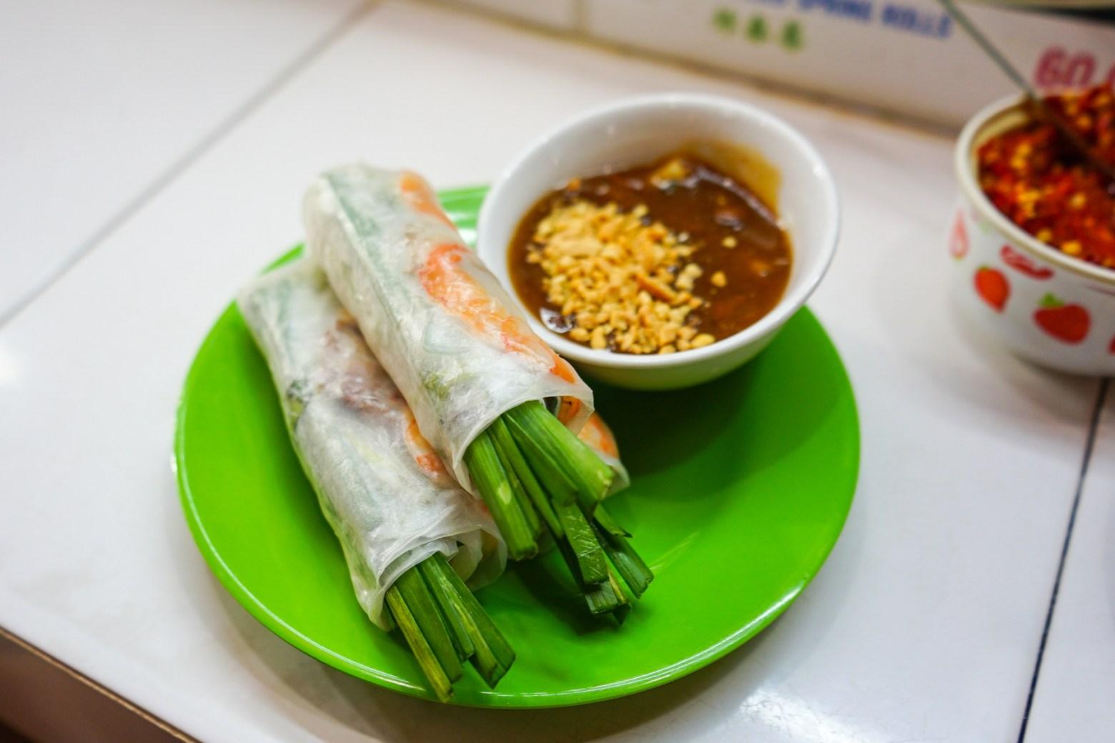 越南必吃美食-生春捲