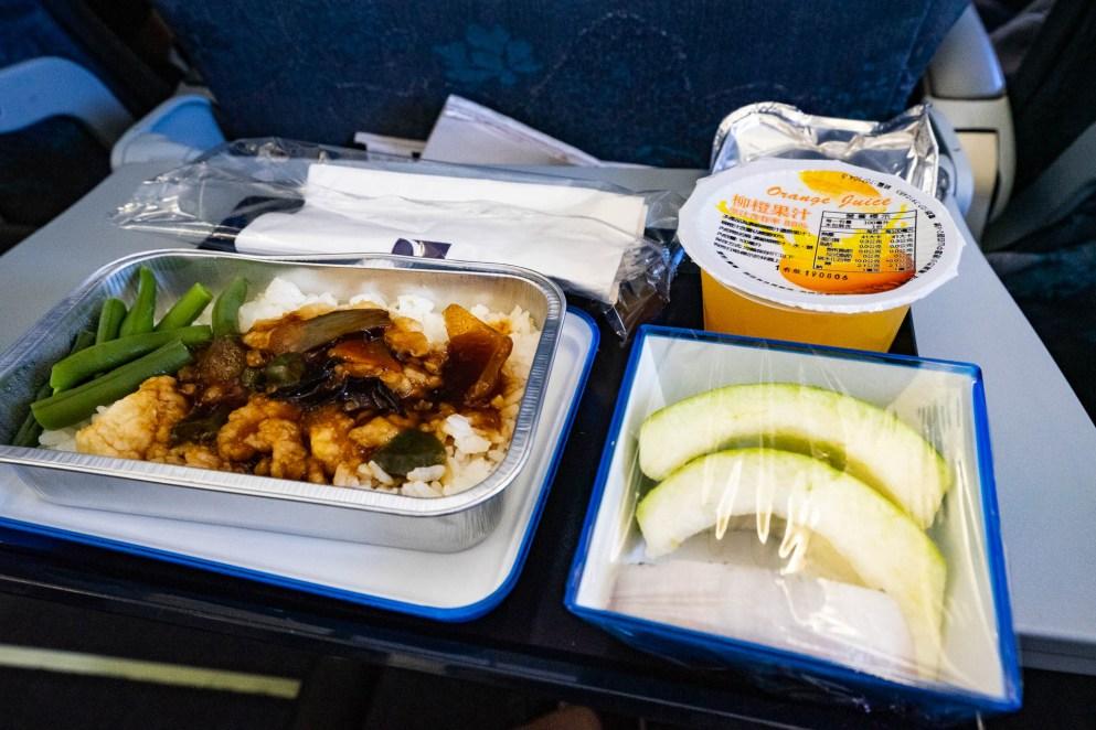 澳門航空飛機餐 NX9611