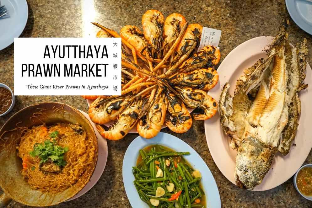 大城蝦市場》在地人帶路的老饕必吃大城美食!直擊大城大頭蝦批發市場