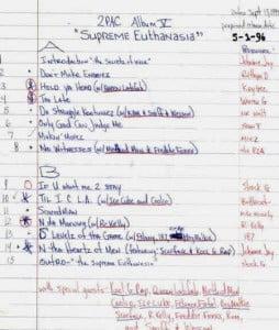 2Pac - Supreme Euthanasia (9-13-95)