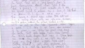Letter To Jimmy Iovine Tupac s Handwritten Letter 2Pac Legacy