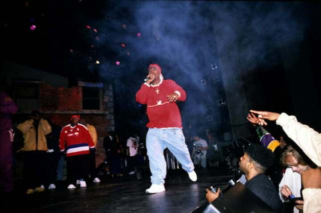 "Tupac performs ""Out on Bail"""