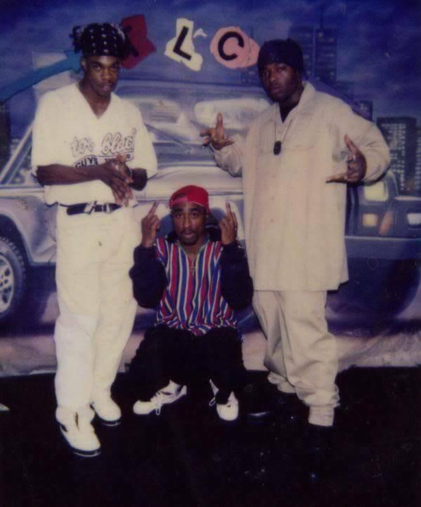 Busta Rhymes, Tupac & Treach, July 28, 1992