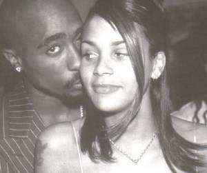Tupac and Kidada Jones..