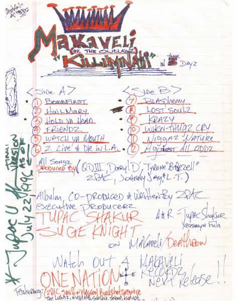 2pac-drafts-makaveli-tracklist