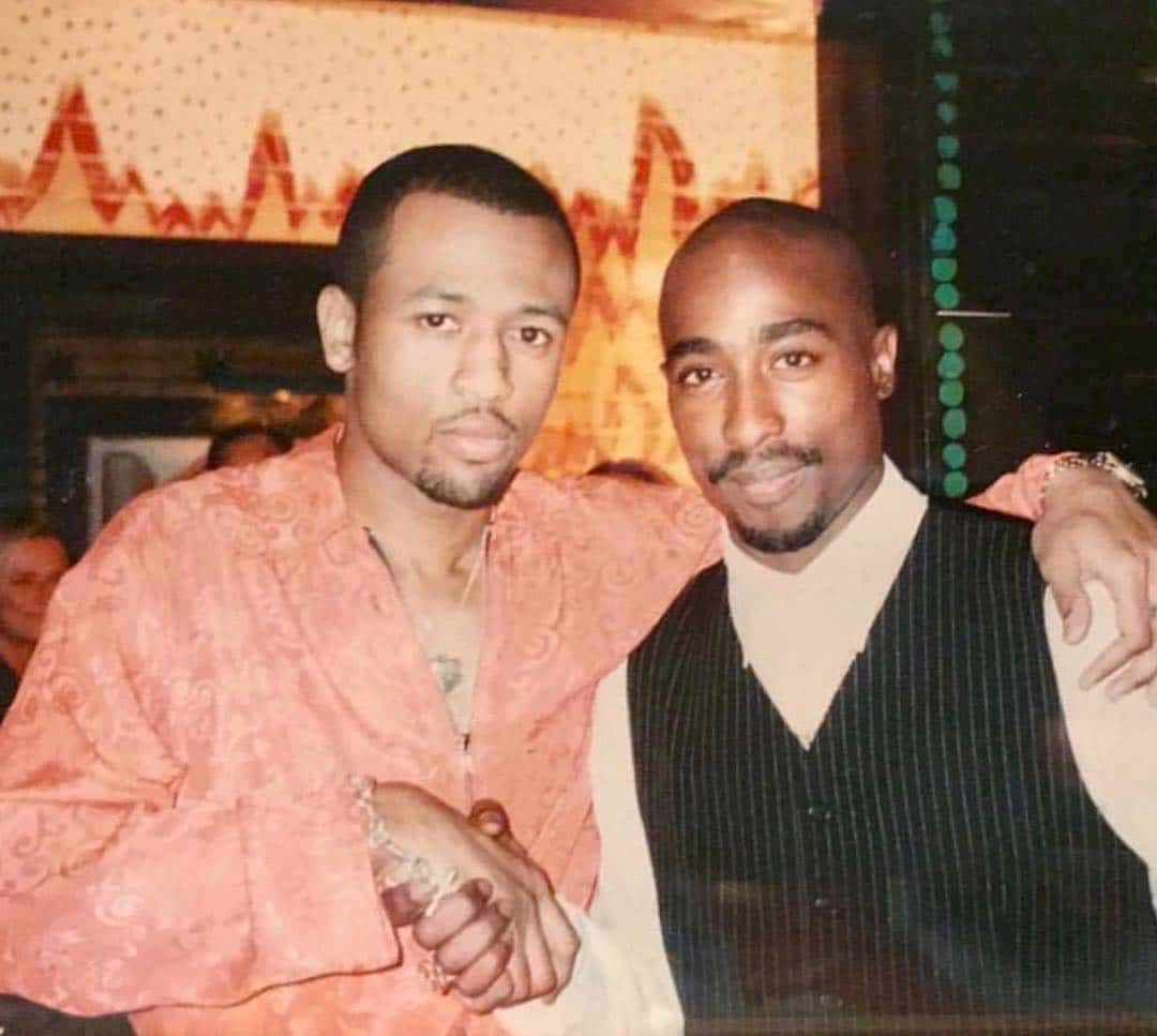 Rare photo of tupac tony rich at the house of blues 1996 03 26 march 26 nvjuhfo Images