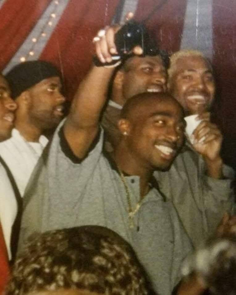 Rare Photo: 2Pac at the Death Row Records Christmas party
