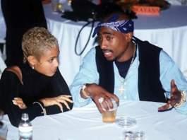 Jada Pinkett Smith & Tupac
