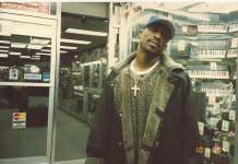 Rare Photo of Tupac At Music Store in the Thug Life Vol.1 Album Release Day