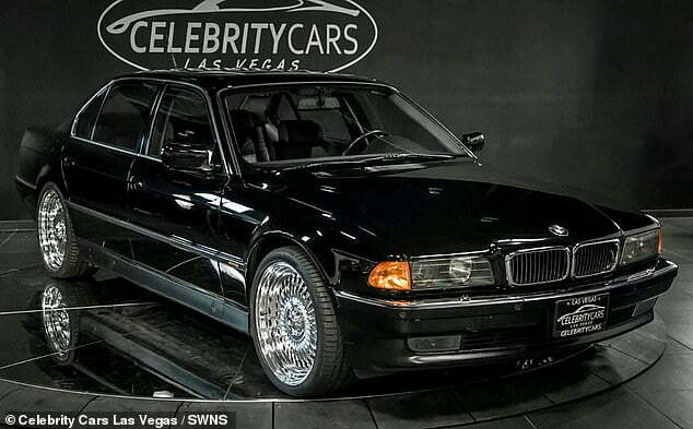 BMW 745Li Tupac was shot in