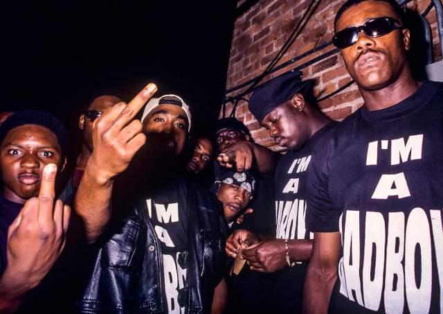 Tupac Biggie T. Eric Monroe