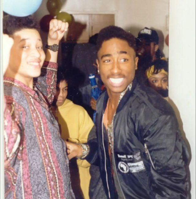 Tupac Shakur And Yaki Kadafi image