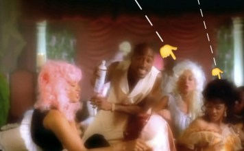 ''How Do U Want It'' Music Video Set