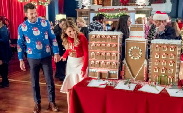 Who Is David In Switched For Christmas on Hallmark