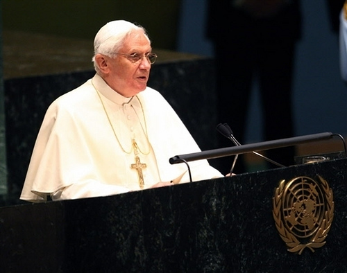 Pope Benedict @ the United Nations