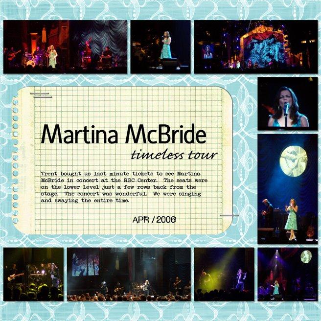 Martina McBride – timeless tour