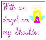 With an Angel on my Shoulder blog button