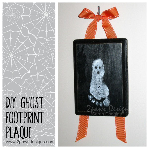 Ghost Footprint Plaque