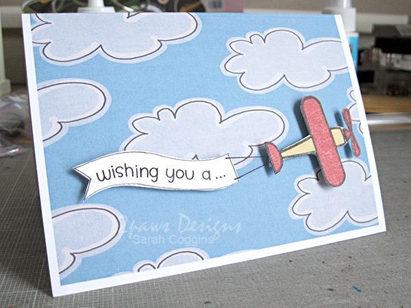 Hybrid Airplane Birthday Card