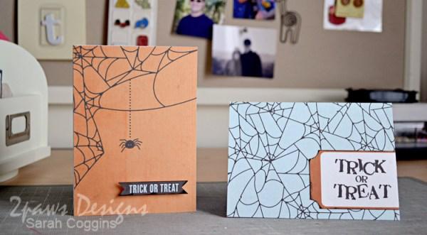 Hybrid Halloween cards