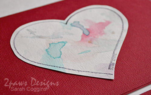 Valentine's Day Craft: Watercolor Valentines