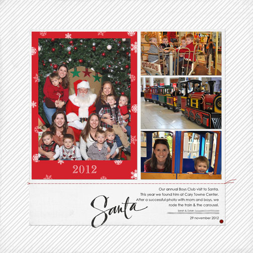 Friday Freebie: Santa Photo