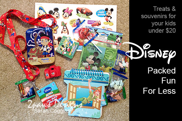 Disney Packed Fun for Less